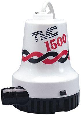 PUMP BILGE TMC 1500GPH 12V