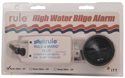 "Rule ""High Water"" Bilge Alarm Kit"