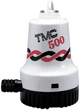 PUMP BILGE TMC HD 500GPH 12V