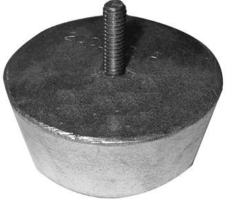 Sacrificial Zinc Engine Anodes - Condenser