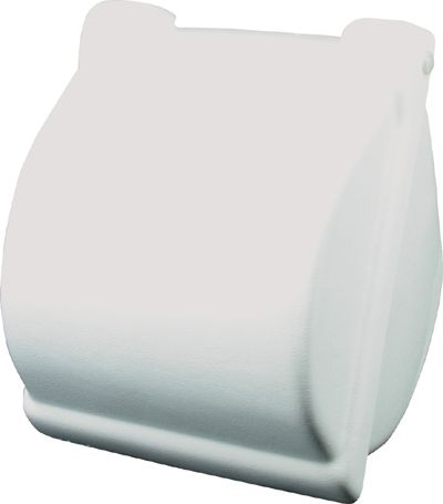 TOILET ROLL HOLDER COVERED PVC