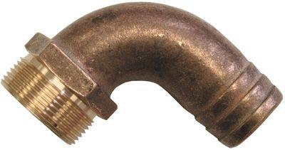 Bronze Hose Connectors - Elbow
