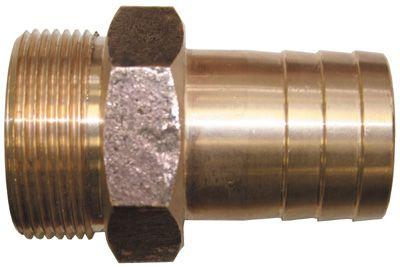 Bronze Hose Connectors - Straight