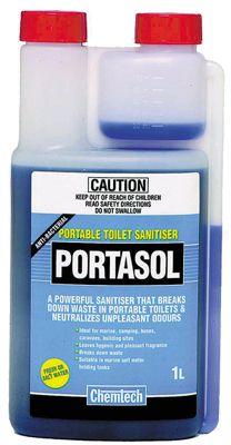 Chemtec Portasol Toilet Sanitiser