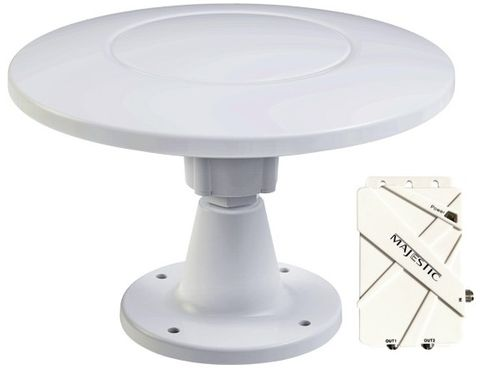 MAJESTIC TV ANTENNA UFO 30dB C/W BRKT