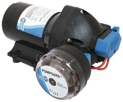 PUMP JABSCO PARMAX 4 W/DOWN KIT 12V