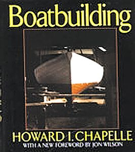 BOOK BOATBUILDING CHAPELLE