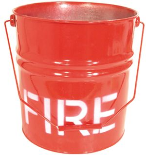 FIRE BUCKET GALV 9LT