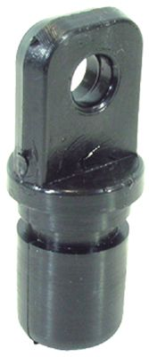 Black Nylon Canopy Fittings Bow Ends