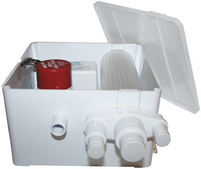 RULE SHOWER SUMP DRAIN KIT 800GPH