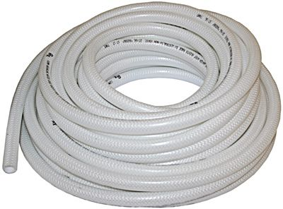 HOSE R/FORCED WHITE DRINK 12MM