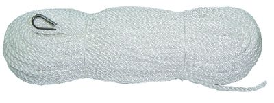 Polyethylene Staple Silver Anchor Rope with Thimble
