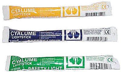 Cyalume Emergency Light Sticks