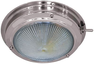LIGHT CABIN DOME SS LED LARGE