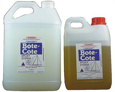Bote Cote Epoxy Resin - Carbon Fibre Pack