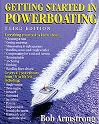 BOOK GETTING STARTED IN POWER BOATS