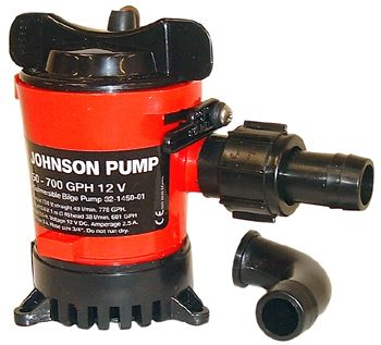 JOHNSON BILGE PUMP L750 24V