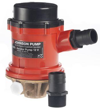 Johnson Pro Series Livewell Dual Port Pumps