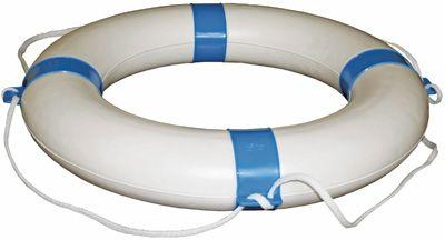 LIFEBUOY ROUND PVC 650MM BLUE