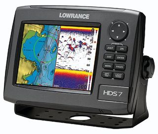 Combination Fishfinder/Plotters
