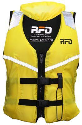 RFD Mistral 100N PFD's