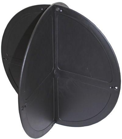 NAVIGATIONAL SHAPE BLACK BALL 350MM