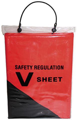 SAFETY DISTRESS V-SHEET