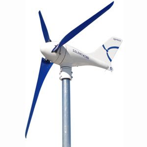 Silentwind Generators with Hybrid Controllers