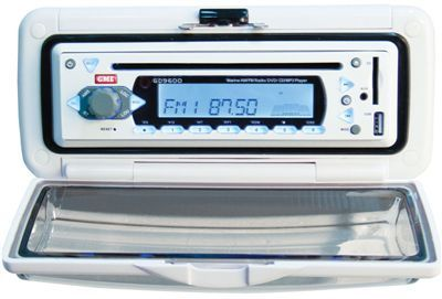 GD9640 STEREO SYSTEM BR/MNT WHITE PACK