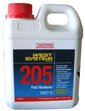 West System Epoxy Hardener Fast 205