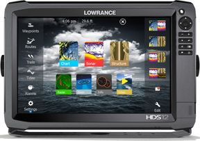 LOWRANCE HDS-12 GEN3 DISPLAY ONLY