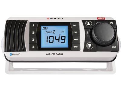 GME GR300BTW AM/FM Marine Radio with Bluetooth