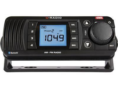 GME GR300BTB AM/FM Marine Radio with Bluetooth