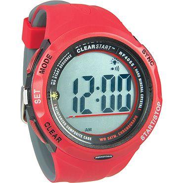 RF4055 CLEARSTART WATCH 50MM RED/GREY