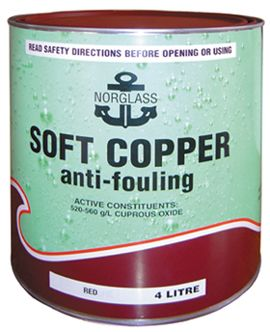 Soft Copper Antifouling Paint