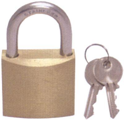 Marine Padlock Brass/Stainless Steel