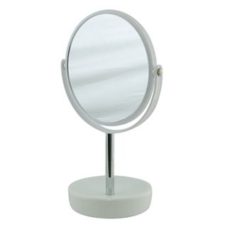 Suds White Ceramic Freestanding Mirror