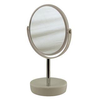 Suds Latte Ceramic Freestanding Mirror