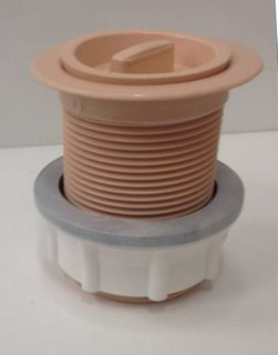 PVC Plug & Waste 40mm Apricot