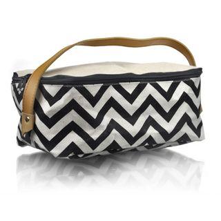 Zigzag Waterproofed Cotton Bag