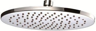Benji2 200mm Round Shower Head Brass