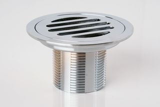 Tile Tray Round Chrome Drain Cover