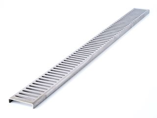 1160mm Channel Grate SS - Punched