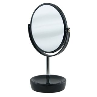 Suds Black Ceramic Freestanding Mirror