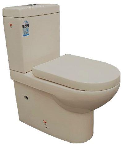 Pavillion Toilet Suite BTW Ivory
