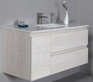 Elisa 1200 WH Vanity Cabinet