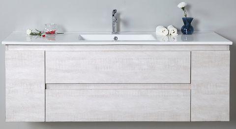 Elisa 1500 WH Vanity Cabinet