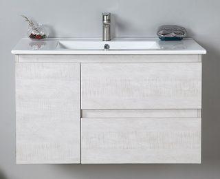 Elisa 900 WH Vanity Cabinet