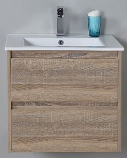 Leo 600 WH Vanity Cabinet Only