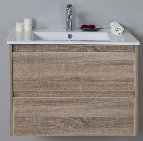 Leo 750 WH Vanity Cabinet Only